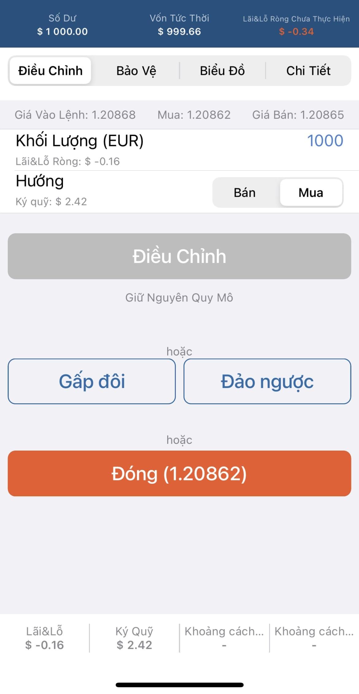Tài khoản cTrader FxPro App