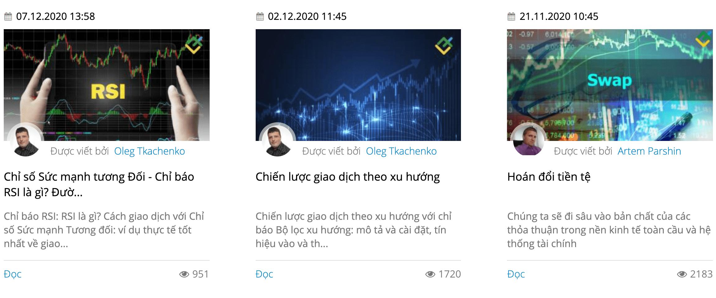 Đào tạo Liteforex