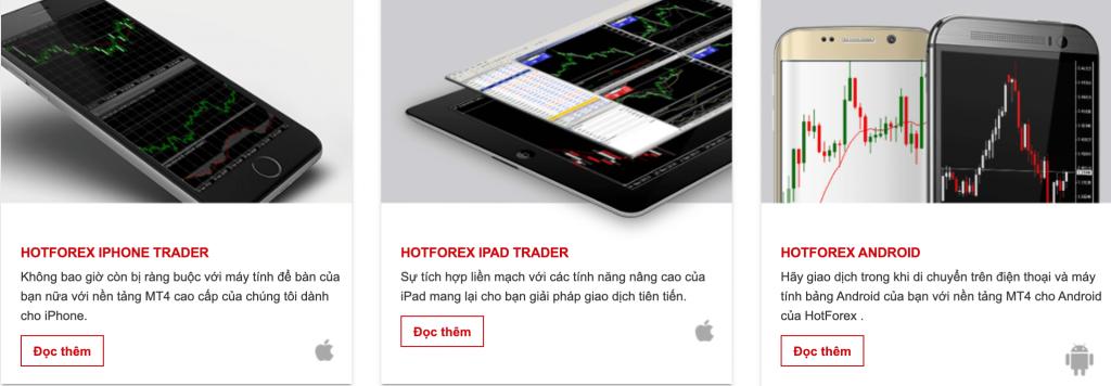 HotForex mobile