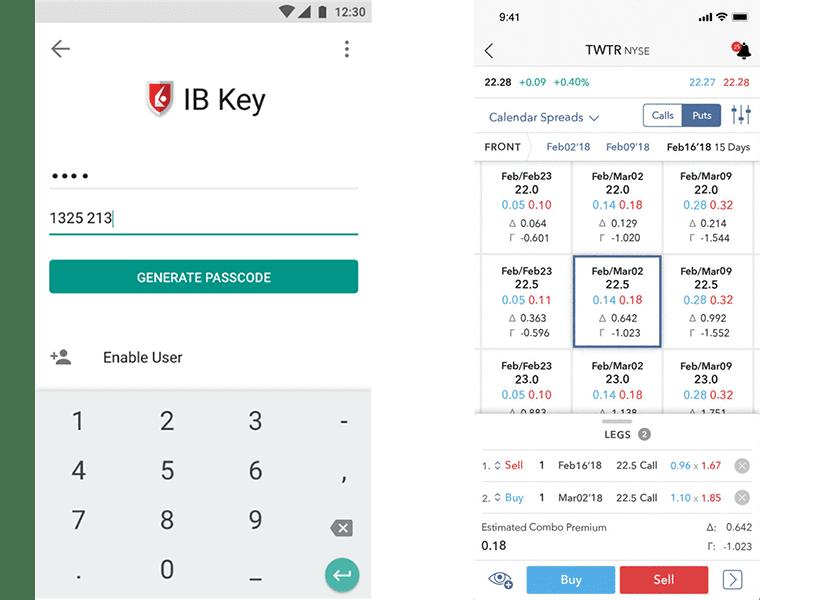 Interactive Brokers Ứng dụng di động của Interactive Brokers
