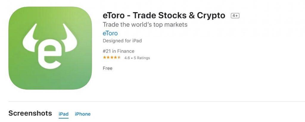 Etoro App Store