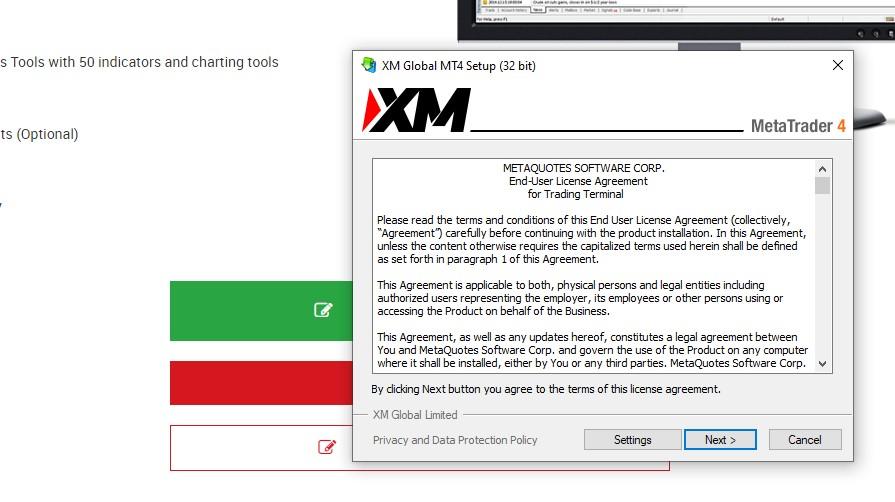MetaTrader 4 Trên PC Bắt đầu cài đặt