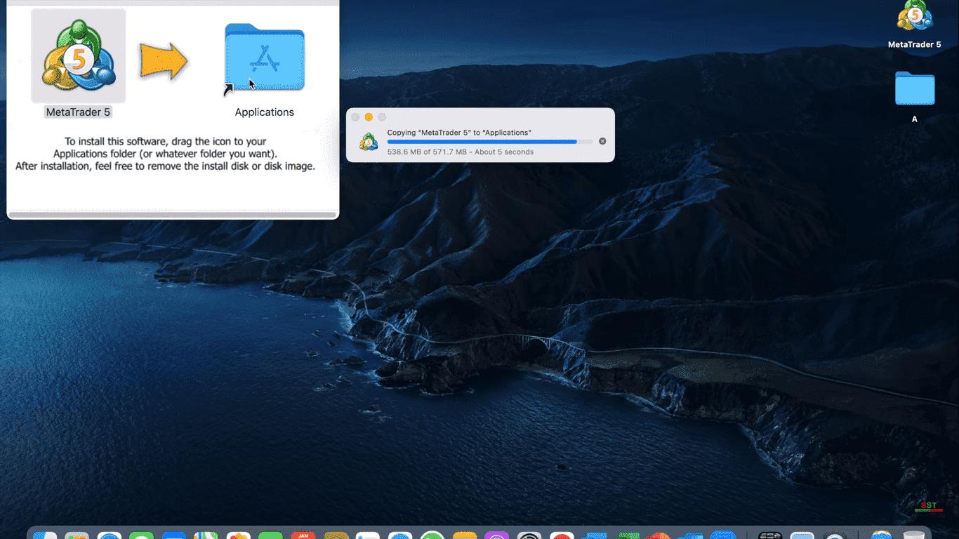 MetaTrader 5 Cài đặt nền tảng MT5 như thế nào Trên máy MAC Cài đặt MT5